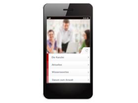Kanzlei-App für Rechtsanwälte